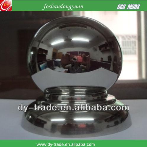 corrimão de metal esfera bolas
