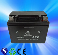 12V 4Ah Lead Acid Dry Charged Motorcycle Battery YTX4L-BS