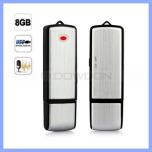 Mini USB Voice Recorder 8GB Internal Flash Memory USB 2.0 Recording Pen