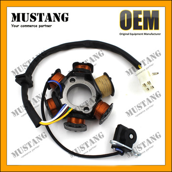 Motorcycle Parts Accessories C70 C80 C90 C100 C110 Magneto Stator Coil For Hero Honda
