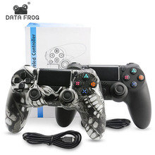 Data Frog Wireless Controller For Sony PS4 Gamepad Joystick For Playstation 4 Controller PS4 Slim DualShock Vibration