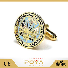 POYA Jewelry US Army Cufflinks, Army Forces Cufflinks, Mens Military Cufflinks