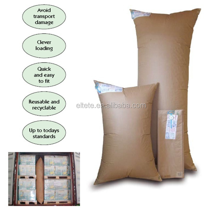 Protective transport cargo damages container air paper bags