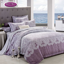 Beijing factory direct supply 4pcs bedding set single 100% cotton cheap bed sheets