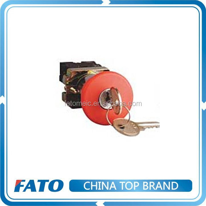 FATO Key Reset Emergency Stop Push Button Switch