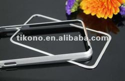 silver metal aluminum bumper cover case for Samsung galaxy note i9220 (with retail package)