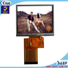 games touch screen 3.5 landscape QVGA 320*240 normal viewing angle with TP TFT