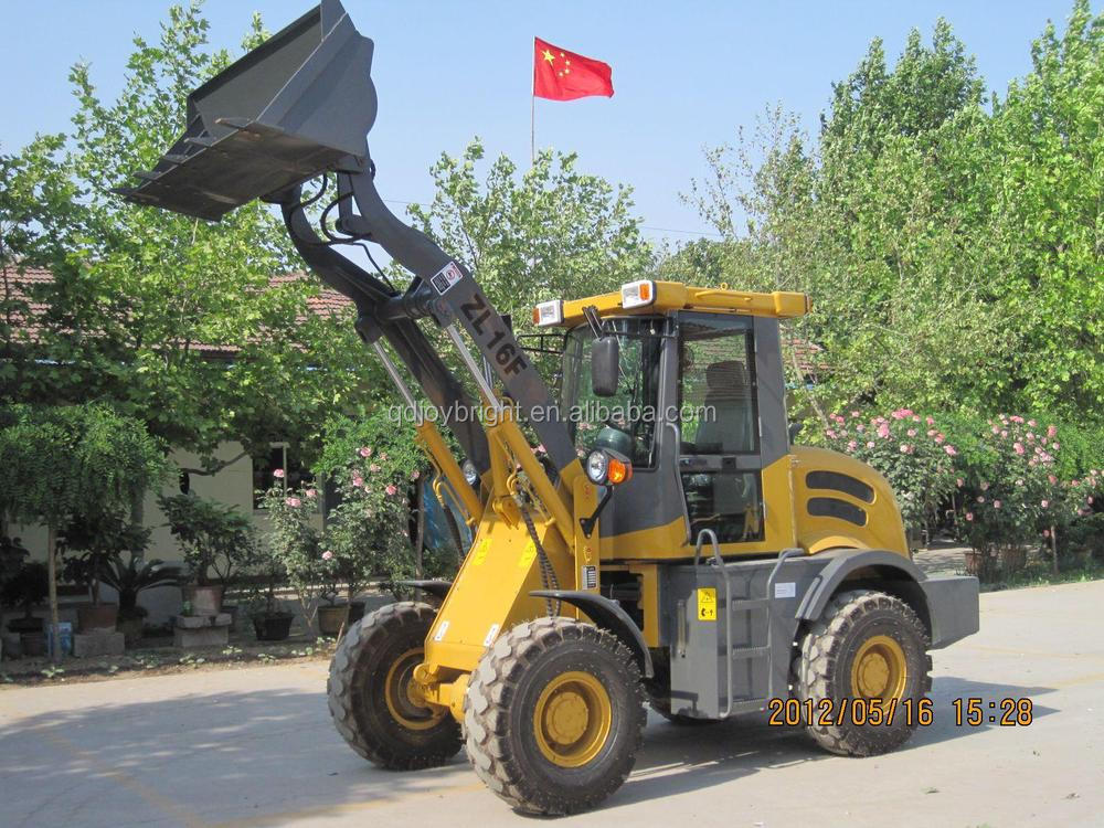 1.6ton wheel loader with CE