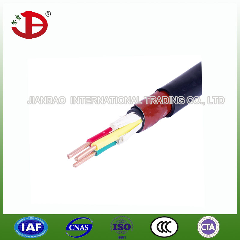 KVVP PVC insulated PVC jacketed braid shielding control power/electronic cable