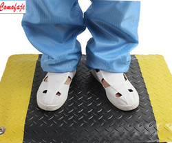 ESD PVC Anti-Fatigue Floor Mats / Cleanroom anti-slip floors mats supplier