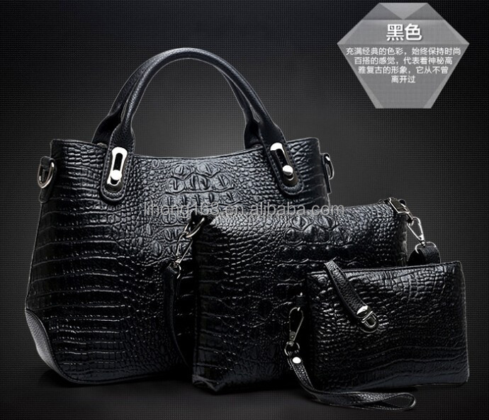 2015 new pu leather lady purse