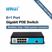 Best Band Nice Prices 8 Port POE gigabit POE Web Smart Ethernet Switch