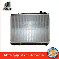 Aluminum auto radiator and car radiator for 1997-1999Nissan Pathfinder IMQX40 Terrano E50 R50 VG33 AT 21460-0W505