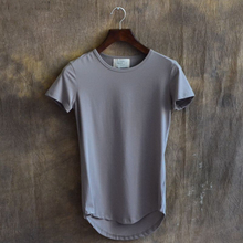 Men's Longline Custom Online Shopping Fashion Clothing T Shirt