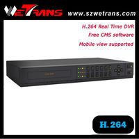 2014 Surveillance security camera 8 CH DVR H.264 Support audio and alarm P2P 960H real time fine dvr