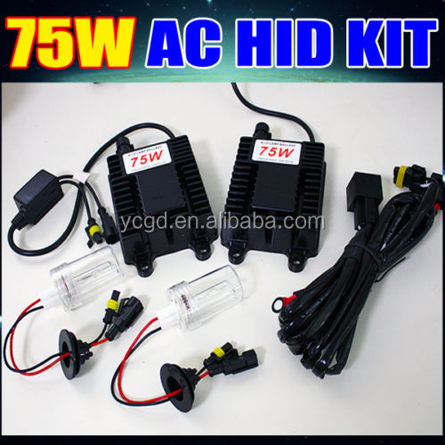 pair of 75w digital hid xenon ballasts for xenon hid headlight hid conversion lamp