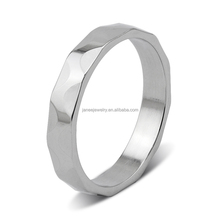 High Quality Polished Brushed 316L Surgical Stainless Steel Engineers Iron Ring Sale