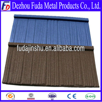 building material wood metal roof tile in Dezhou Fuda