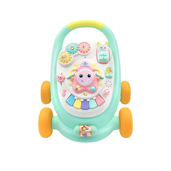 Wholesale multi-function plastic learning baby push trolley walker with music