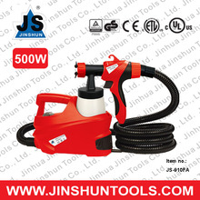 500W JS-910FA HVLP Turbine Motor Control Finish Car Wash Water and Paint Spray Gun