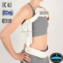 firm support aluminum construction back brace posture support