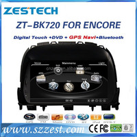 2 din car dvd car audio for Buick ENCORE touch screen car audio dvd gps player with steering wheel control,auto radio Navi