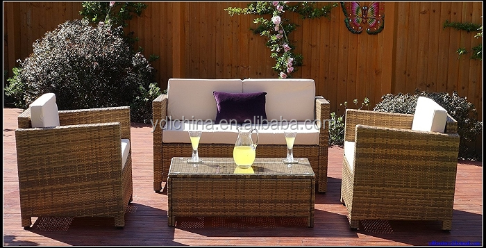 alu rattan furniture outdoor factory
