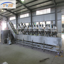 Industrial gypsum powder mixing packing production line