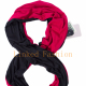 Infinity Scarf Travel Scarf with Pockets Hidden Zipper Pocket Scarf Solid Colors