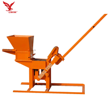 JZ-1 small hand press brick machine clay hand operated interlock brick making machine price for sale south africa