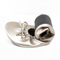 Roll Up Flexible Foldable Cusual Ballet Shoes