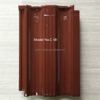 Cheap Chinese flat red clay roof tile