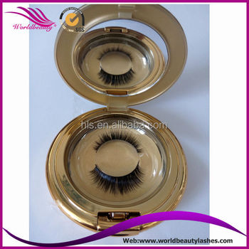Best!!!Siberian Mink False Eyelash,Real mink fur lashes with customed package box