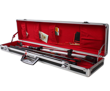 Hard aluminum fishing rod golf pole storage carrying tool case
