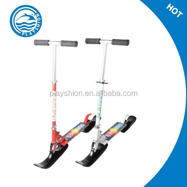 Snow kick scooter,adult and kids snow scooter,snow ski scooter