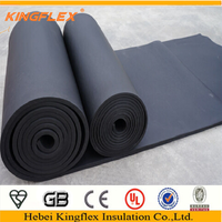 Rubber foam insulation B1 sheet