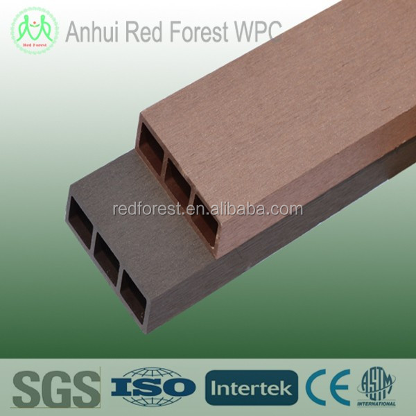 wood plastic composite exterior wall cladding panel
