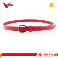 2016 spring newest leather belt women
