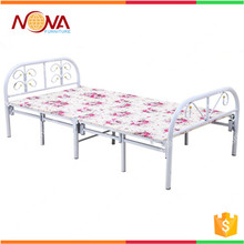 Good quality wholesale cheap used modern fancy single folding metal bed price