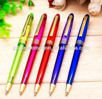 2017 neck ball pen office supply plastic ball pen for promotion