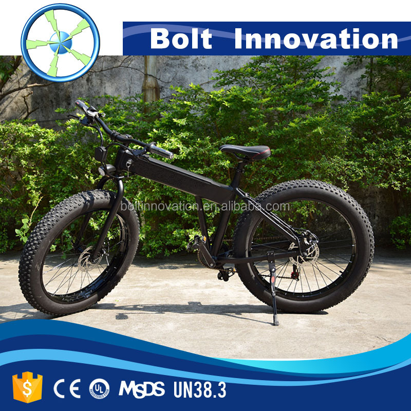 26*4.0 250W /500W/750W/1000W big power Fat tire electric Mountain bike/Snow bike/electric bicycle