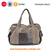 Promotional Canvas Large Capacity Sports Outdoor Travel Handbag with Side Pocket for Men & Women