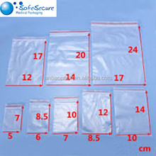 Hot Sell Clear Resealable PE Zip lock Plastic Bags Pouches