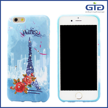 2016 New Arrival Products Ultra Thin Sublimation PU Case For iPhone 6