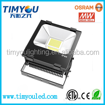 china alibaba best sellers aluminum MeanWell driver ip65 smd led flood light outdoor industrial 50w 70w 100w 150w 200w fixture