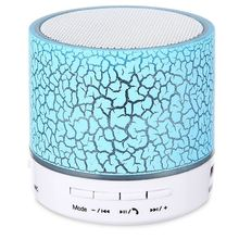 LED Mini Wireless Bluetooth Speaker A9 USB FM Portable Sound Box Subwoofer Loudspeakers Support TF Card with Microphone Altavoz