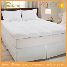New Arrival wholesale home hotel massage feather down alternative mattress topper