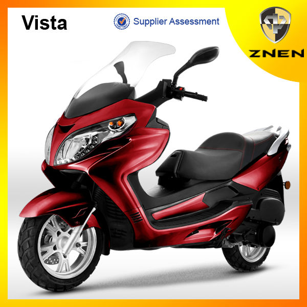 2017 ZNEN Vista (Patent gas scooter, electric scooter ,EEC) 2016 New 250cc big power scooter with digital meter and MP3