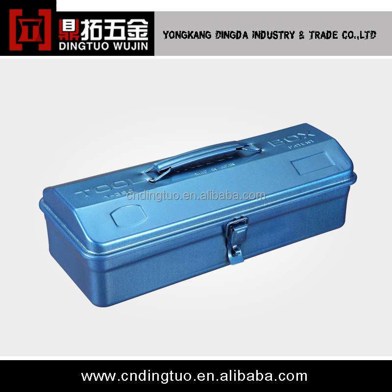 portable blue travel tool box