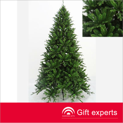 Very popular cheap custom X'mas tree 6FT wrapped PVC christmas tree